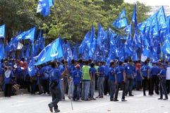 13. Parlamentswahl Malaysias Stockfotos
