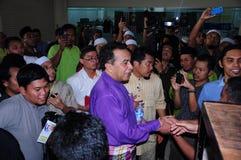13. Parlamentswahl 2013 Malaysias Stockbild