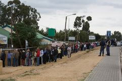 Parlamentswahl Südafrika 2009 Lizenzfreie Stockfotos