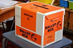 2014 Parlamentswahl - Wahlen Neuseeland Stockbilder