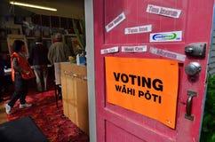 2014 Parlamentswahl - Wahlen Neuseeland Lizenzfreie Stockfotografie