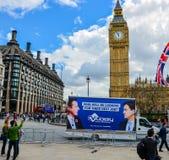 Parlamentswahl Westminster Lizenzfreies Stockfoto