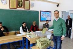 Parlamentswahlen in der Türkei, 2015 Lizenzfreies Stockfoto