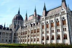 Parlamentu budynek Budapest powierzchowność zdjęcie royalty free
