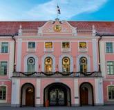 Parlamentu budynek Estonia Zdjęcie Royalty Free