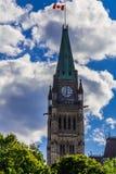 Parlamentu budynek w Ottawa Obrazy Royalty Free