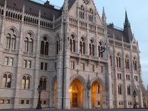 Parlamentu budynek w Praga Obraz Royalty Free