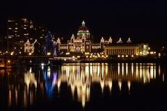 Parlamentu budynek, Wiktoria BC zdjęcia royalty free