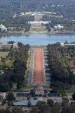 Parlamentu dom w Canberra Zdjęcie Royalty Free
