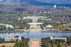 Parlamentu dom w Canberra Obrazy Stock