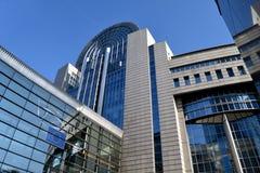 Parlamentu Europejskiego budynek Obrazy Stock