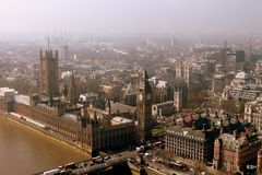 Parlamentu kwadrat, Londyn Zdjęcie Stock