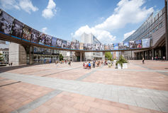 Parlamentu kwadrat w Bruksela Obraz Royalty Free