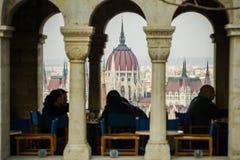 Parlamentu widok Zdjęcia Royalty Free