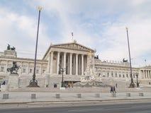 Parlamentu widok, Wiedeń, Austria obraz stock
