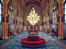 Parlamentu wnętrze obrazy stock