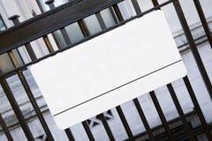 Parlamentu znak uliczny, Westminister; Londyn Zdjęcia Royalty Free