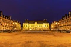 Parlement av Brittany i Rennes Arkivfoton