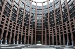 Parlement europeu Foto de Stock