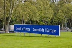 Parlementaire vergadering van de Raad van Europa Stock Foto
