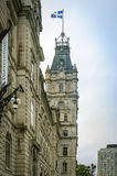 Parlementsgebouw in de Stad van Quebec, Canada Stock Afbeeldingen