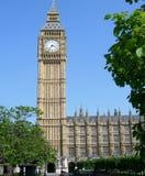 Parlementsgebouw in Londen, Engeland, het UK Stock Afbeeldingen