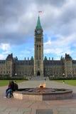 Parlementsgebouw in Ottawa, Canada Royalty-vrije Stock Afbeeldingen
