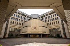 Parlementsgebouw in Simferopol royalty-vrije stock foto's