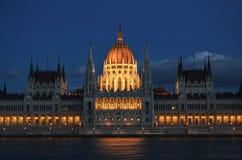 Parlementsgebouw van Boedapest Royalty-vrije Stock Foto