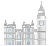 Parlementsgebouw van het Verenigd Koninkrijk Stock Afbeeldingen