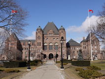 Parlementsgebouw Van Ontario Stock Fotografie