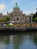 Parlementsgebouw Van Victoria, BC, Canada Royalty-vrije Stock Foto's