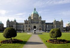 Parlementsgebouwen Stock Foto