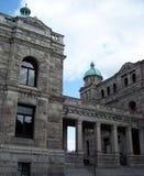 Parlementsgebouwen in Victoria BC Stock Afbeeldingen