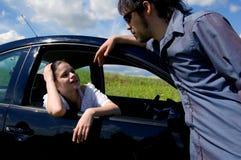 Parler de couples Images libres de droits