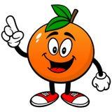 Parler orange illustration de vecteur