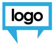 Parlez le descripteur 3 de logo Image stock
