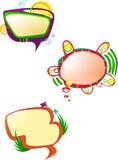 Parli le bolle Fotografia Stock
