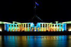 Parliamenet House at Enlighten 2015 Stock Photo