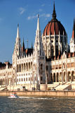 Parliament. This building is most famous building for the hungarian people stock photo