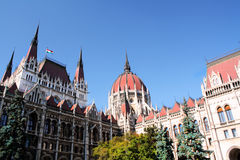 Parliament. Hungarian Parliament Building in Budapest Royalty Free Stock Images