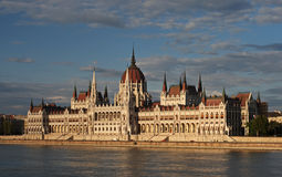 Hungary parliament , Budapest Royalty Free Stock Images