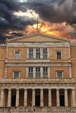 Parliament in Athens Greece Stock Photography