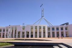 Parliament of Australia Building in Canberra Stock Photos