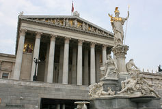 Parliament of Austria Royalty Free Stock Images