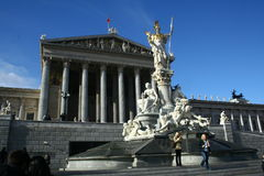 Parliament of Austria Royalty Free Stock Photography