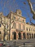 Parliament of autonomous Catalonia Royalty Free Stock Photography