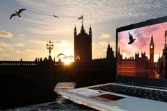 Parliament with Big Ben, London Royalty Free Stock Photos