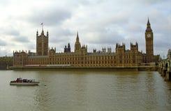 The Parliament and the Big Ben, London, England Stock Photos