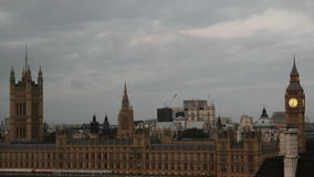 Parliament and big ben sunrise stock footage
